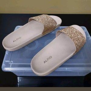87c063adb Aldo Shoes - ALDO WOMENS MONTAGNE - GOLD SIZE 9